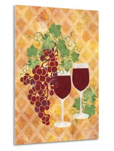 Sip of Wine-Bee Sturgis-Metal Print