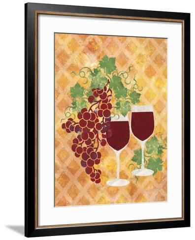 Sip of Wine-Bee Sturgis-Framed Art Print
