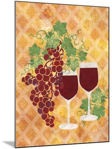 Sip of Wine-Bee Sturgis-Mounted Art Print