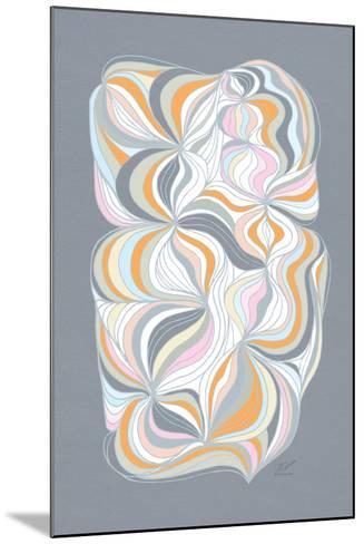 Retro Swirl-Dominique Vari-Mounted Art Print