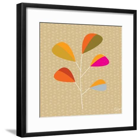 Multi Leaves - Solo-Dominique Vari-Framed Art Print