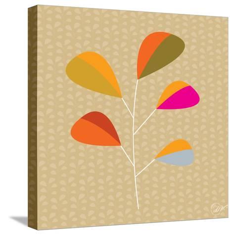 Multi Leaves - Solo-Dominique Vari-Stretched Canvas Print