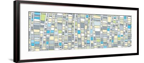 Up - Tonal-Dominique Vari-Framed Art Print