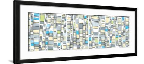 Up - Tonal-Dominique Vari-Framed Art Print