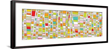 Up - Comic-Dominique Vari-Framed Art Print