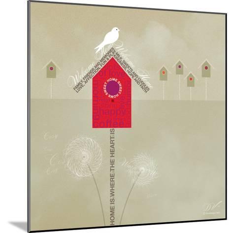 Bird House - Ivory-Dominique Vari-Mounted Art Print