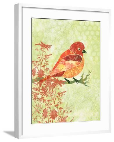 Orange Bird-Bee Sturgis-Framed Art Print
