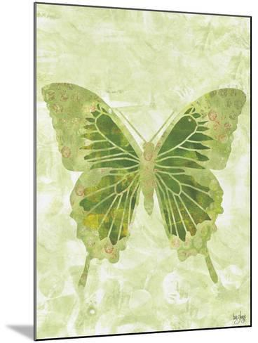 Large Butterfly-Bee Sturgis-Mounted Art Print
