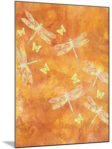 Many Soaring Dragonflies-Bee Sturgis-Mounted Art Print