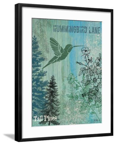 Hummingbird Lane-Bee Sturgis-Framed Art Print