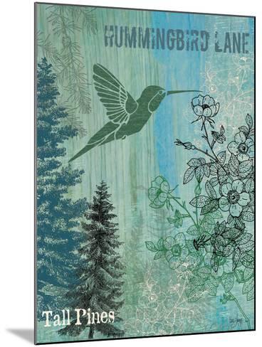 Hummingbird Lane-Bee Sturgis-Mounted Art Print