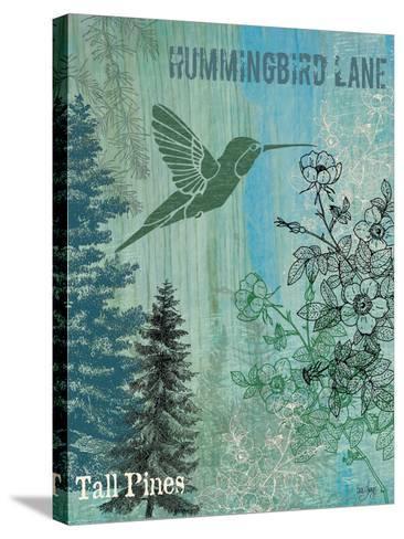 Hummingbird Lane-Bee Sturgis-Stretched Canvas Print