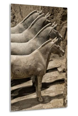China 10MKm2 Collection - Terracotta Warriors and Horses-Philippe Hugonnard-Metal Print