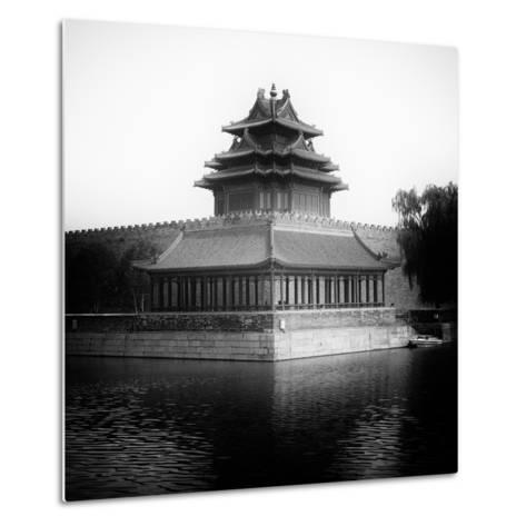 China 10MKm2 Collection - Watchtower - Forbidden City-Philippe Hugonnard-Metal Print
