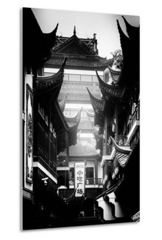 China 10MKm2 Collection - Traditional Architecture in Yuyuan Garden - Shanghai-Philippe Hugonnard-Metal Print
