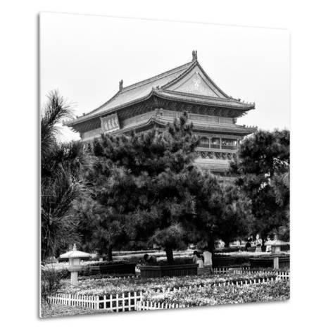 China 10MKm2 Collection - Xi'an Architecture - Temple-Philippe Hugonnard-Metal Print