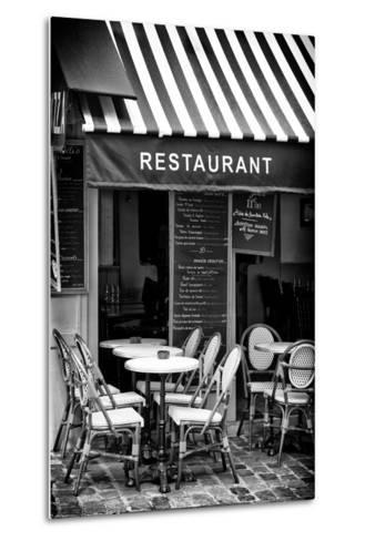 Paris Focus - French Restaurant-Philippe Hugonnard-Metal Print