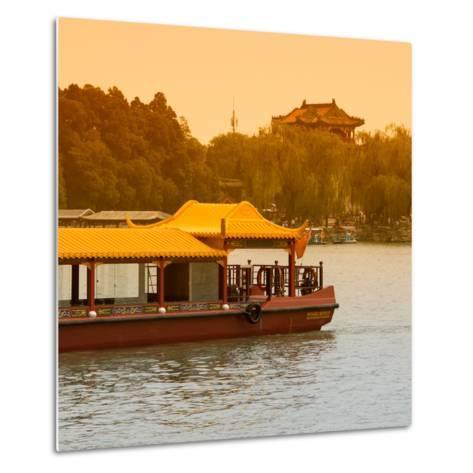 China 10MKm2 Collection - Traditional Dragon Boat-Philippe Hugonnard-Metal Print