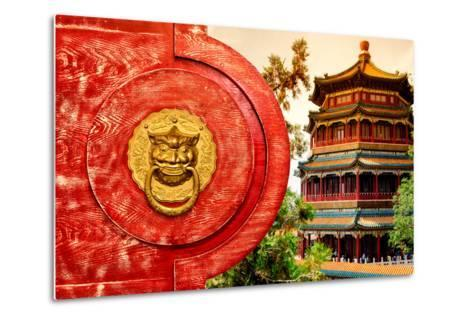 China 10MKm2 Collection - The Door God - Summer Palace-Philippe Hugonnard-Metal Print