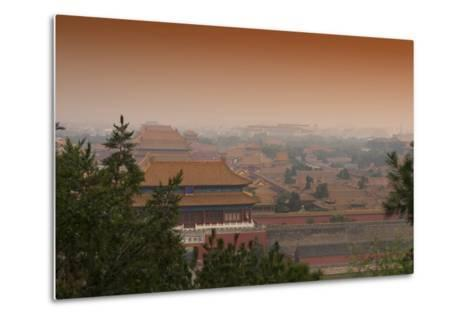 China 10MKm2 Collection - The Forbidden City - Beijing-Philippe Hugonnard-Metal Print