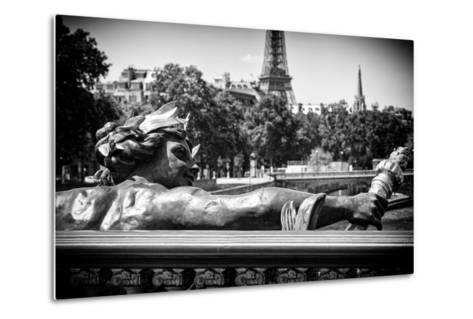 Paris Focus - Liberty Bridge-Philippe Hugonnard-Metal Print