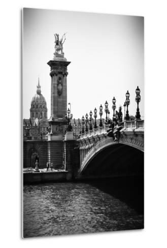 Paris Focus - Paris City Bridge-Philippe Hugonnard-Metal Print