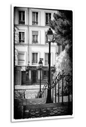 Paris Focus - Steps to Montmartre-Philippe Hugonnard-Metal Print