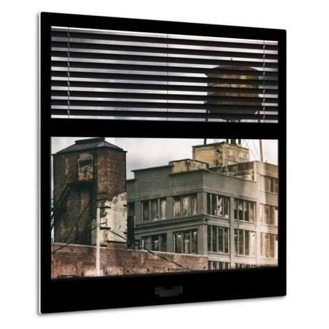 View from the Window - Brooklyn-Philippe Hugonnard-Metal Print