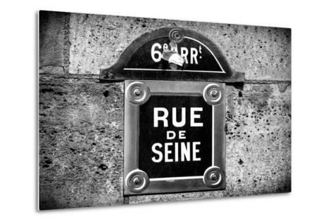 Paris Focus - Rue de Seine-Philippe Hugonnard-Metal Print