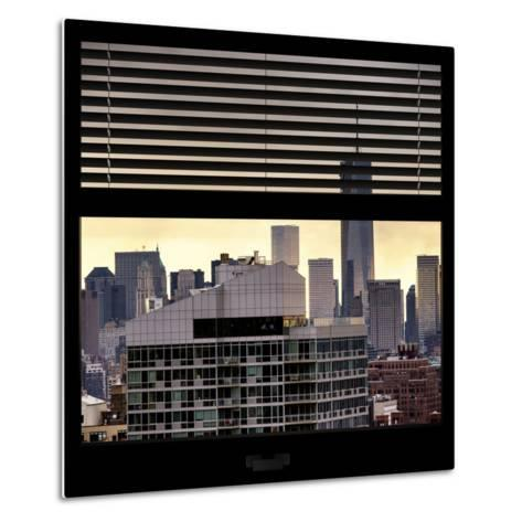 View from the Window - One World Trade Center-Philippe Hugonnard-Metal Print