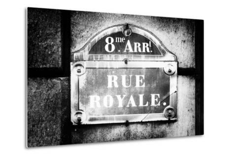 Paris Focus - Rue Royale-Philippe Hugonnard-Metal Print