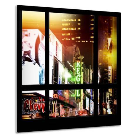 View from the Window - New York City Light-Philippe Hugonnard-Metal Print