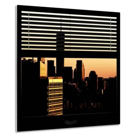 View from the Window - One World Trade Center at Sunset-Philippe Hugonnard-Metal Print