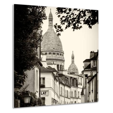 Paris Focus - Sacre-C?ur Basilica - Montmartre-Philippe Hugonnard-Metal Print