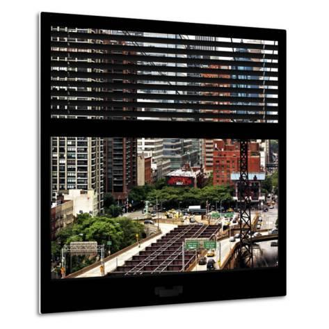 View from the Window - New York Traffic-Philippe Hugonnard-Metal Print