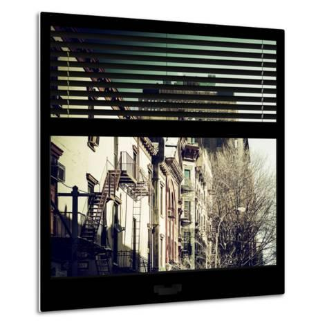 View from the Window - New York Winter-Philippe Hugonnard-Metal Print