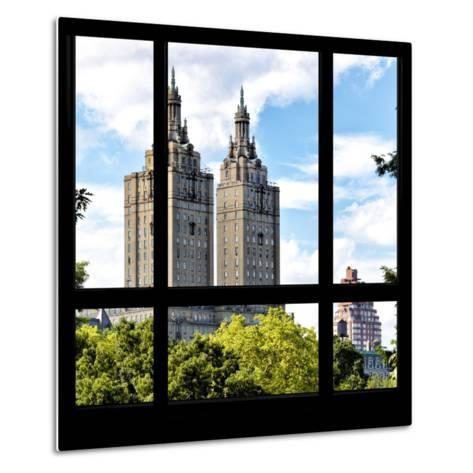 View from the Window - San Remo Building - Central Park-Philippe Hugonnard-Metal Print