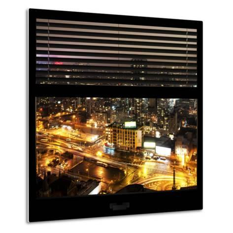 View from the Window - Downtown Manhattan-Philippe Hugonnard-Metal Print