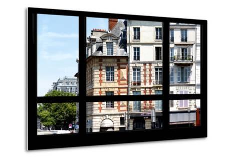 Paris Focus - Paris Window View-Philippe Hugonnard-Metal Print