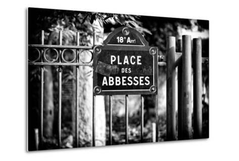 Paris Focus - Place des Abbesses - Montmartre-Philippe Hugonnard-Metal Print