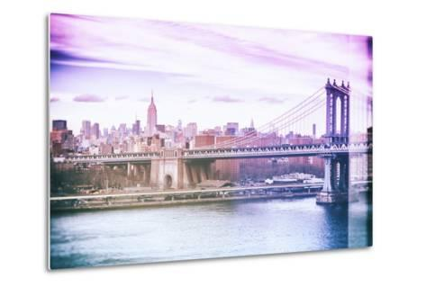 Pastel Series - New York City-Philippe Hugonnard-Metal Print