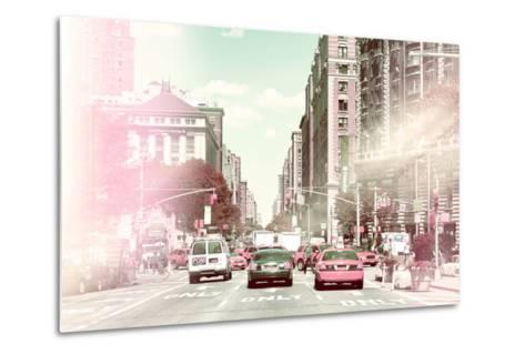 Pastel Series - New York City-Philippe Hugonnard-Metal Print