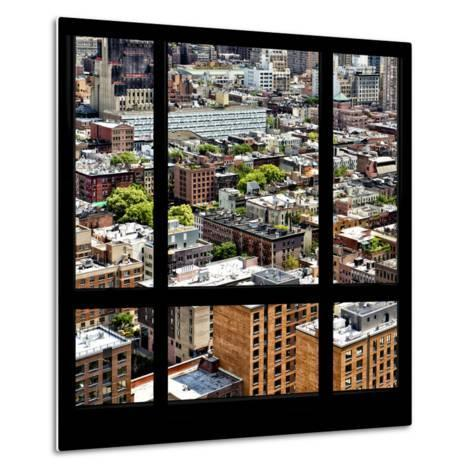 View from the Window - Midtown Manhattan-Philippe Hugonnard-Metal Print