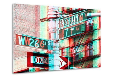 After Twitch NYC - Fashion Avenue-Philippe Hugonnard-Metal Print