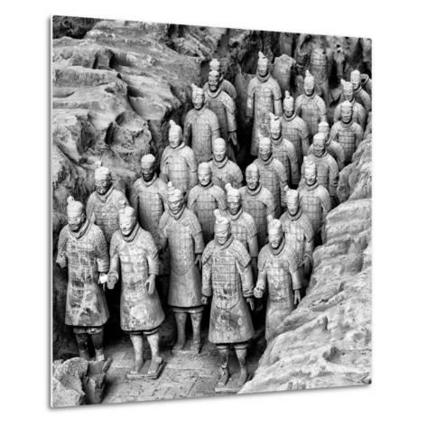 China 10MKm2 Collection - Army of Terracotta Warriors - Shaanxi Province-Philippe Hugonnard-Metal Print