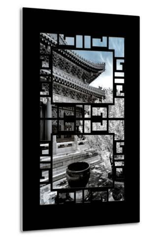 China 10MKm2 Collection - Asian Window - Another Look Series - Summer Palace-Philippe Hugonnard-Metal Print