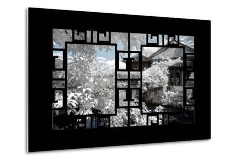 China 10MKm2 Collection - Asian Window - Another Look Series - White House-Philippe Hugonnard-Metal Print