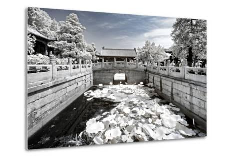 China 10MKm2 Collection - Another Look - Lotus Bridge-Philippe Hugonnard-Metal Print