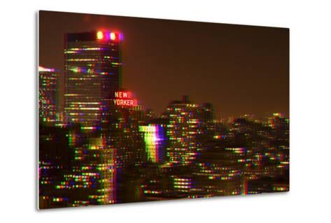 After Twitch NYC - Red Night-Philippe Hugonnard-Metal Print
