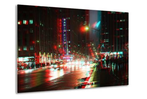 After Twitch NYC - Urban City-Philippe Hugonnard-Metal Print